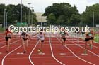 Under-17 womens 80 metres hurdles. Photo: David T. Hewitson/Sports for All Pics