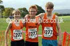 Boys under-13s Northern Cross Country Relays, Graves Park, Sheffield. Photo: David T. Hewitson/Sports for All Pics