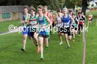Boys under-15s Northern Cross Country Relays, Graves Park, Sheffield. Photo: David T. Hewitson/Sports for All Pics