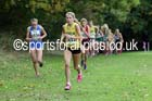 Girls under-15s Northern Cross Country Relays, Graves Park, Sheffield. Photo: David T. Hewitson/Sports for All Pics