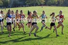 Womens under-17s Northern Cross Country Relays, Graves Park, Sheffield. Photo: David T. Hewitson/Sports for All Pics