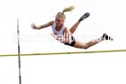 Womens pole vault at the Northern Inter-Counties under-17s and 15s at Witton Park, Blackburn. Photo: David T. Hewitson/Sports for All Pics