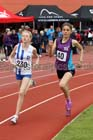 Girls under-15s 800 metres, Gateshead Tartan Games. Phot: David T. Hewitson/Sports for All Pics