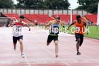 Junior mens 100 metres, Gateshead Tartan Games. Phot: David T. Hewitson/Sports for All Pics