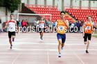 Junior mens 400 metres, Gateshead Tartan Games. Phot: David T. Hewitson/Sports for All Pics