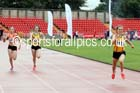 Junior womens 100 metres, Gateshead Tartan Games. Phot: David T. Hewitson/Sports for All Pics