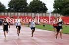 Senior mens 100 metres, Gateshead Tartan Games. Phot: David T. Hewitson/Sports for All Pics