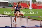 Womens under-17s 300 metres hurdles, Gateshead Tartan Games. Phot: David T. Hewitson/Sports for All Pics