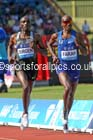 Mo Farah (GB) leads the mens 3000 metres, IAAF Diamond League, Birmingham. Photo: David T. Hewitson/Sports for All Pics