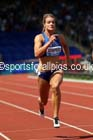 Dafne Schippers (NED) womens 100 metres, IAAF Diamond League, Birmingham. Photo: David T. Hewitson/Sports for All Pics