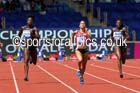 Floria Guei (FRA) wins the womens 400 metres, IAAF Diamond League, Birmingham. Photo: David T. Hewitson/Sports for All Pics