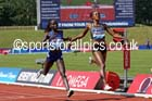 Vivian Cheruiyot outsprints Mercy Cherono (both Ken) womens 5000 metres, IAAF Diamond League, Birmingham. Photo: David T. Hewitson/Sports for All Pics