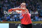 Goldie Sayers (GB), womens javelin, IAAF Diamond League, Birmingham. Photo: David T. Hewitson/Sports for All Pics
