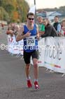 Andrew Lawrence 2nd in the Morpeth to Newcastle Marathon. Photo: David T. Hewitson/Sports for All Pics