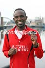Abraham Tewelde winner of the North Tyneside to Newcastle Half Marathon. Photo: David T. Hewitson/Sports for All Pics