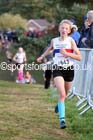 Girls under-13s, 2016 National Cross Country Relays, Berry Hill Park, Mansfield. Photo: David T. Hewitson/Sports for All Pics