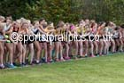 Womens under-17s, 2016 National Cross Cpuntry Relays, Berry Hill Park, Mansfield. Photo: David T. Hewitson/Sports for All Pics