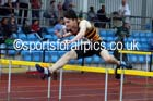 Mens under-20s 110 metres hurdles, Northern Championships, Sport City, Manchester. Photo: David T. Hewitson/Sports for All Pics