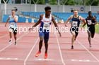 Mens under-20s 200 metres, Northern Championships, Sport City, Manchester. Photo: David T. Hewitson/Sports for All Pics