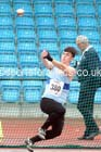 Mens under-20s hammer, Northern Championships, Sport City, Manchester. Photo: David T. Hewitson/Sports for All Pics