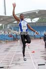 Mens under-20s long jump, Northern Championships, Sport City, Manchester. Photo: David T. Hewitson/Sports for All Pics