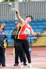 Mens under-20s shot putt, Northern Championships, Sport City, Manchester. Photo: David T. Hewitson/Sports for All Pics