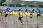 Senior mens 110 metres hurdles, Northern Championships, Sport City, Manchester. Photo: David T. Hewitson/Sports for All Pics