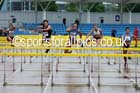 Senior womens 100 metres hurdles, Northern Championships, Sport City, Manchester. Photo: David T. Hewitson/Sports for All Pics