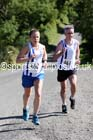 Louise Talman 2nd woman and Barry Talman (both Darlington Harriers), Tynedale Jelly Tea 10 Mile Road Race, Hexham. Photo: David T. Hewitson/Sports for All Pics