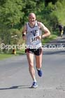 Kevin Lister (North East Vets) 2nd in the Tynedale 15 Mile Road Race, Hexham. Photo: David T. Hewitson/Sports for All Pics