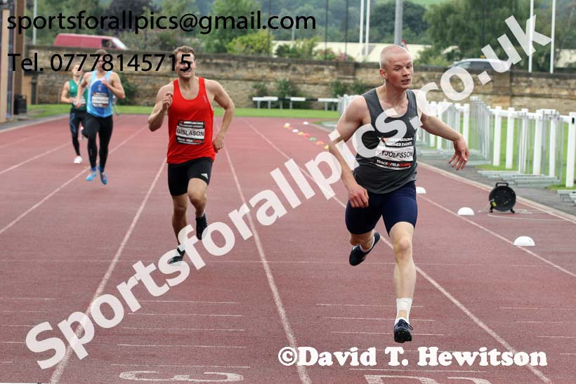 Mens decathlon 400 metres, EAP International Cominted Events, Hexham. Photo: David T. Hewitson/Sports for All Pics