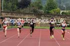Womens heptathlon 200 metres, EAP International Cominted Events, Hexham. Photo: David T. Hewitson/Sports for All Pics
