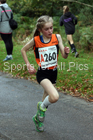 Girls under-13s 3 stage road relay, 2017 ERRA 6 and 4 Stage and Junior Relays. Photo:  David T. Hewitson/Sports for All Pics