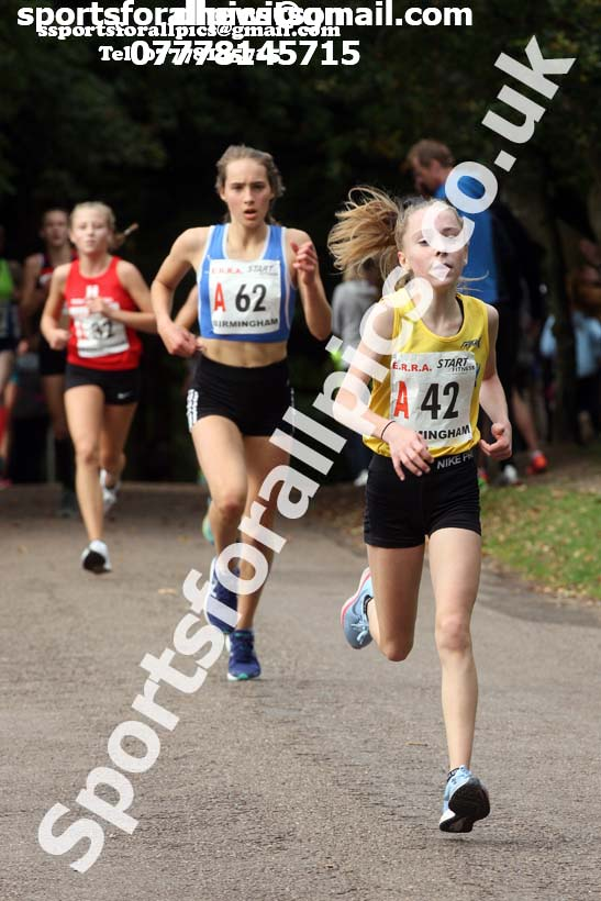 Girls under-15s 3 stage road relay, 2017 ERRA 6 and 4 Stage and Junior Relays. Photo:  David T. Hewitson/Sports for All Pics