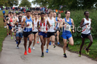 Start of the senior mens 6 stage road relay, 2017 ERRA 6 and 4 Stage and Junior Relays. Photo:  David T. Hewitson/Sports for All Pics
