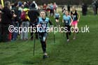 Girls under-13 Inter-District, 2017 Great Edinburgh Cross Country. Photo: David T. Hewitson/Sports for All PIcs