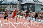 Mens 110 metres hurdles, 2017 Great North CityGames, Gateshead/Newcaste. Photo: David T. Hewitson/Sports for All Pics
