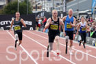 Mens IPC T44 100 metres, 2017 Great North CityGames, Gateshead/Newcaste. Photo: David T. Hewitson/Sports for All Pics