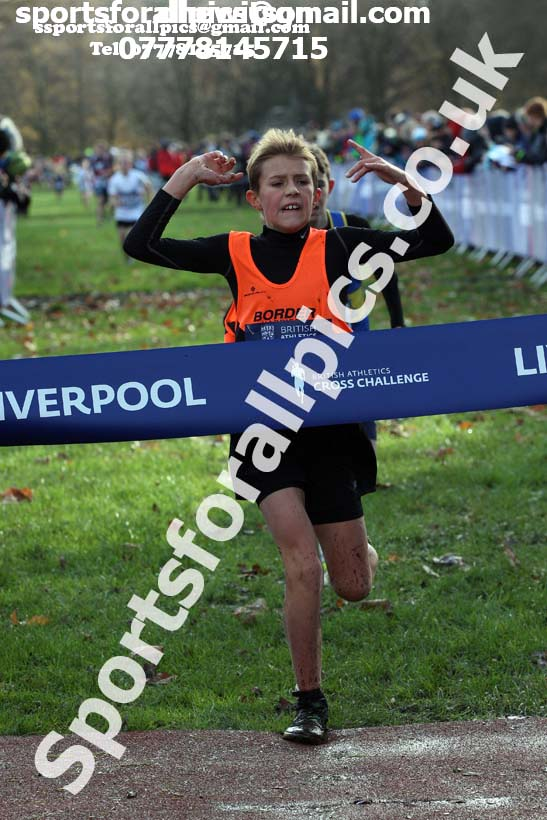 Boys and Girls under-11s 2017 British Athletics Liverpool Cross Challenge, Sefton Park, Liverpool. Photo:  David T. Hewitson/Sports for All Pics