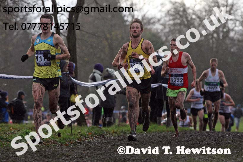Senior men and under-23 mens 2017 British Athletics Liverpool Cross Challenge, Sefton Park, Liverpool. Photo:  David T. Hewitson/Sports for All Pics