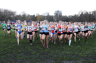 Womens under-17s and IAAF Junior Womens 2017 British Athletics Liverpool Cross Challenge, Sefton Park, Liverpool. Photo:  David T. Hewitson/Sports for All Pics