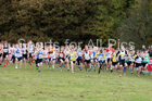 Boys under-13s National Cross Country Relay, Berry Hill Park, Mansfield. Photo:  David T. Hewitson/Sports for All Pics