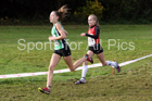 Girls under-13s National Cross Country Relay, Berry Hill Park, Mansfield. Photo:  David T. Hewitson/Sports for All Pics