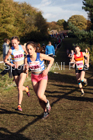 Girls under-15s National Cross Country Relay, Berry Hill Park, Mansfield. Photo:  David T. Hewitson/Sports for All Pics