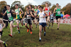 Mens junior National Cross Country Relay, Berry Hill Park, Mansfield. Photo:  David T. Hewitson/Sports for All Pics