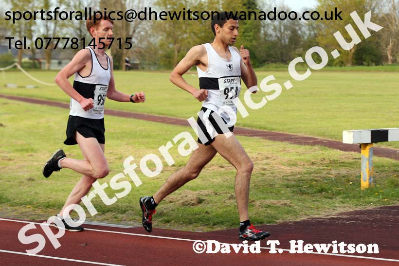 North Eastern 10000 metres Championships, Monkton Stadium, Jarrow. Photo: David T. Hewitson/Sports for All Pics