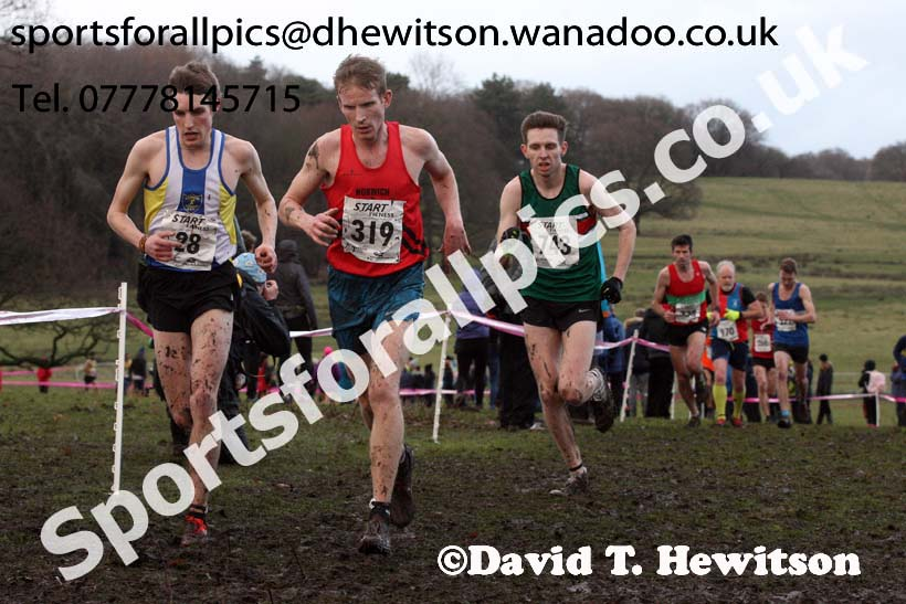 Senior mens Northern Cross Country, Knowsley Safari Park. Photo: David T. Hewitson/Sports for All Pics
