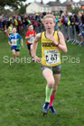 Girls under-11s Northern Cross Country Relays, Graves Park, Sheffield. Photo:  David T. Hewitson/Sports for All Pics