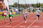 Boys under-13s 100 metres, Northern Under-17s/U-15s and U13s Champs, Leigh Sports Village, Leigh. Photo: David T. Hewitson/Sports for All Pics