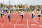 Boys under-15s 100 metres, Northern Under-17s/U-15s and U13s Champs, Leigh Sports Village, Leigh. Photo: David T. Hewitson/Sports for All Pics